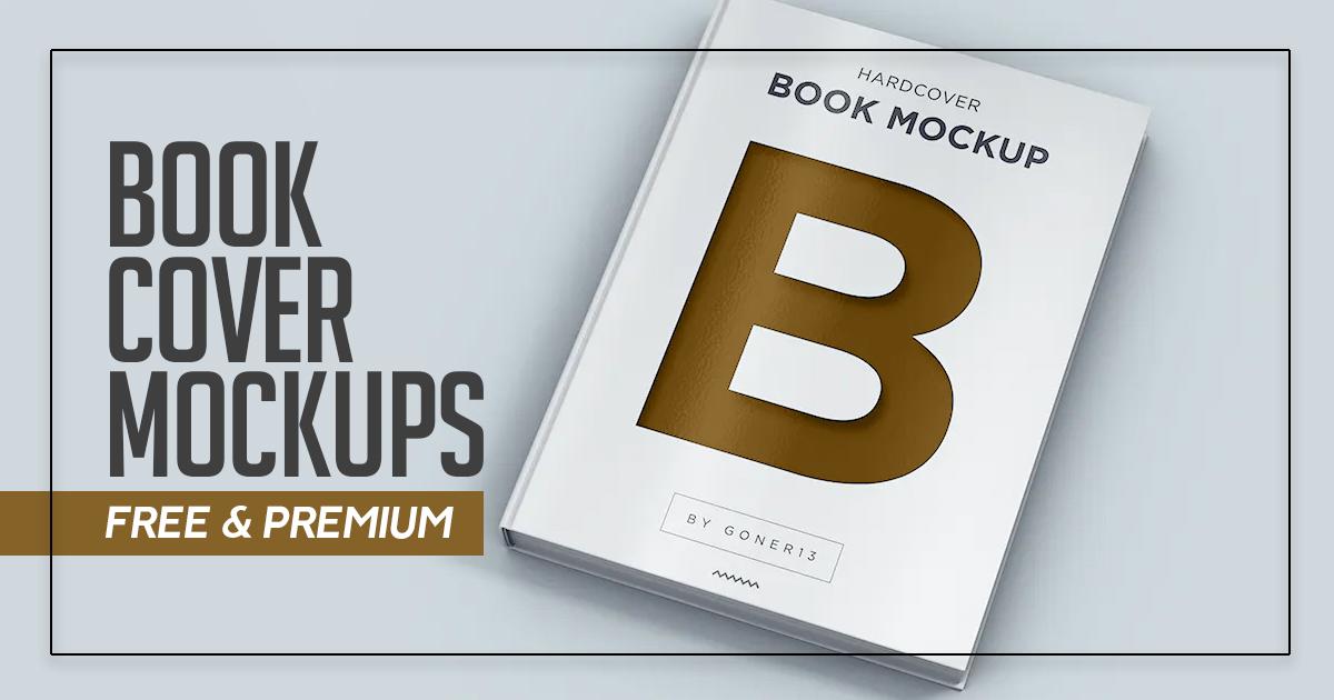 Book Mockups (Free & Premium)