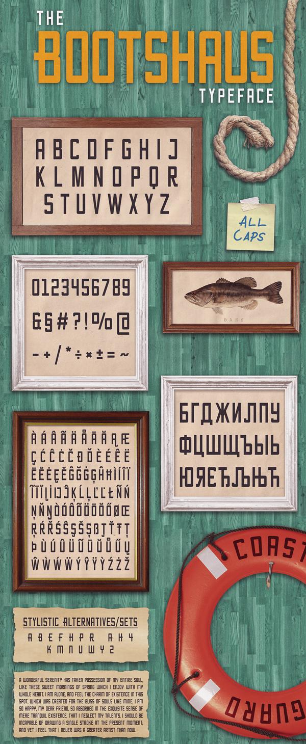 Bootshaus Free Font
