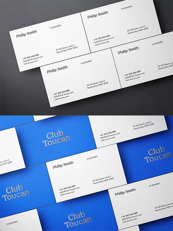 Creative Business Cards Mockup
