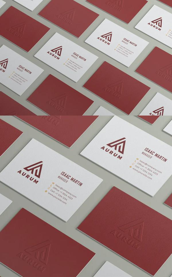 Perfect Creative Business Card Mockup