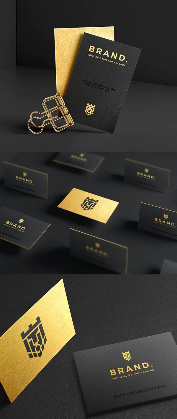 Best Business Cards Mockup