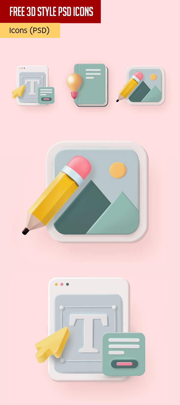PSD icons Free to Download