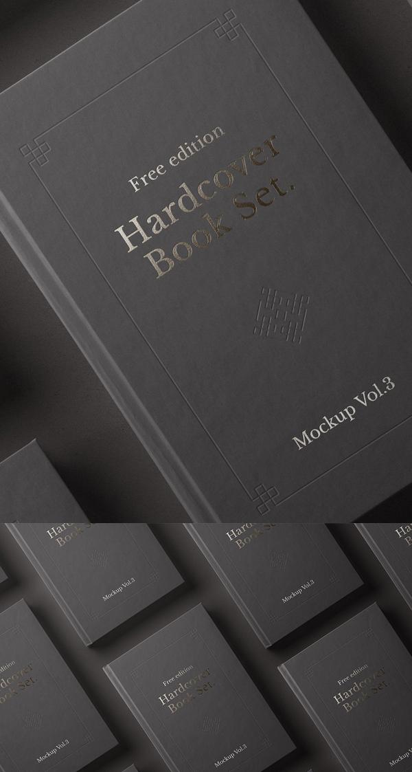 Free Psd Book Mockup Hardcover Free Font