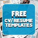 Post thumbnail of 16 Free Modern CV / Resume Templates (PSD)
