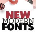 Post thumbnail of 23 New Modern Fonts For Designers