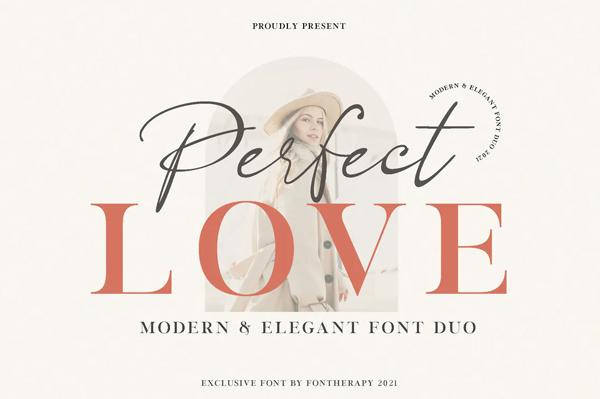 Perfect Love Elegant Business Font Font