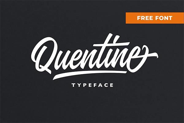 Quentine Free Script Font