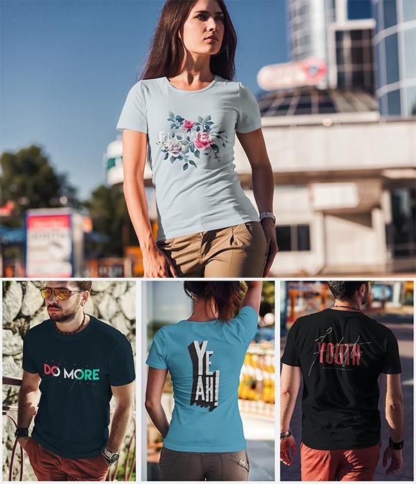 Best T-Shirt Fashion Mockup