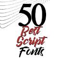 Post Thumbnail of 50 Best Script Fonts Of 2021