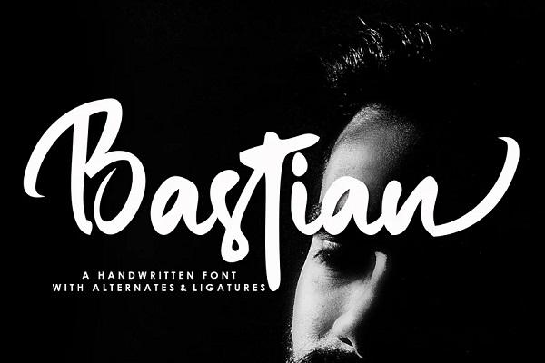 Bastian Handwritten Brush Font