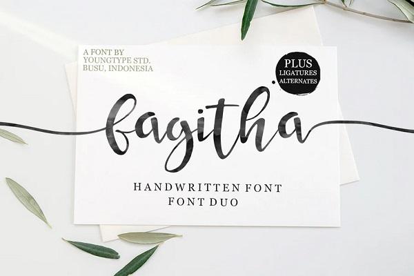 Fagitha Script Font