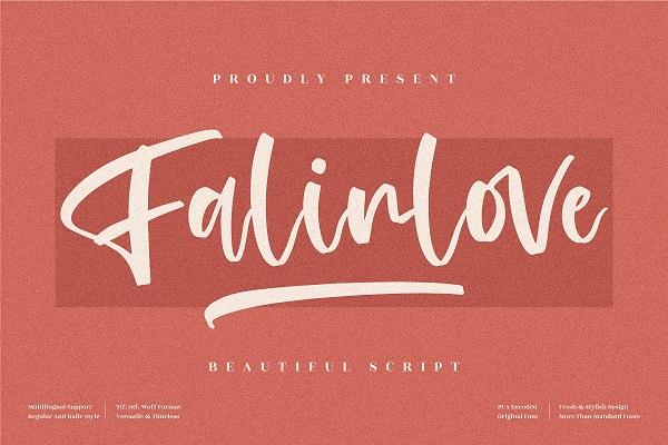Falinlove Beautiful Handwritten Font
