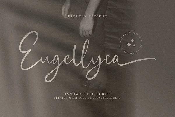 Eugellyca Handwritten Script Font