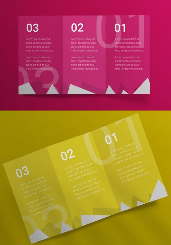 Download Free Tri-Fold Brochure Mockup
