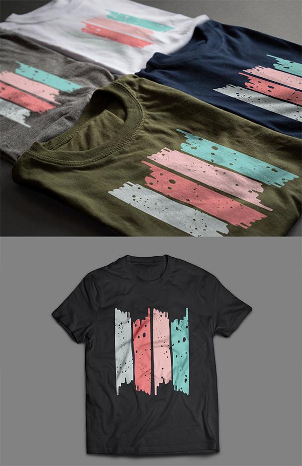 Free T Shirt Mockup Design