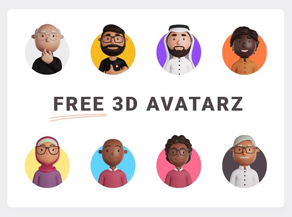 Free 3D Avatars
