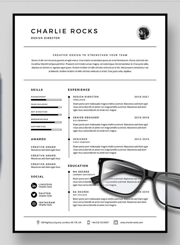 Free Simple Resume Template