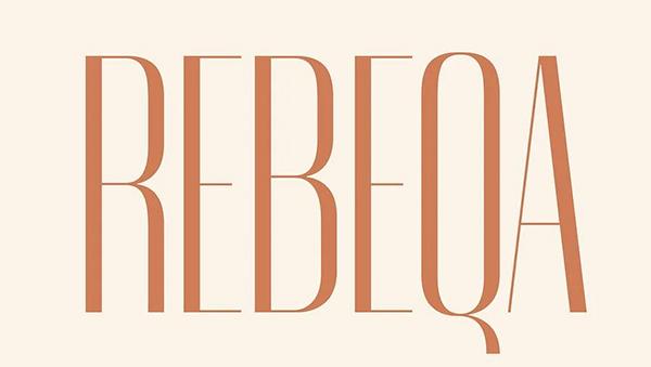 Rebeqa Free Typeface
