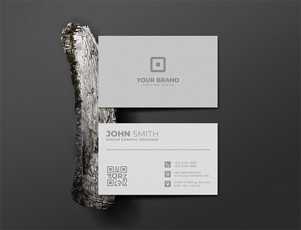 Clean Business Card Mockup
