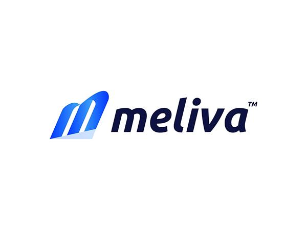 M Modern Initial Letter Logo
