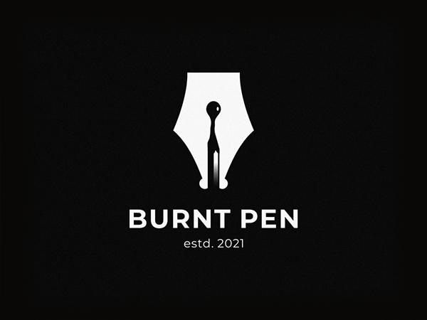 Purnt Pen Logo Design