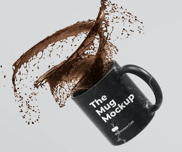 Coffee Mug Cup Mockup