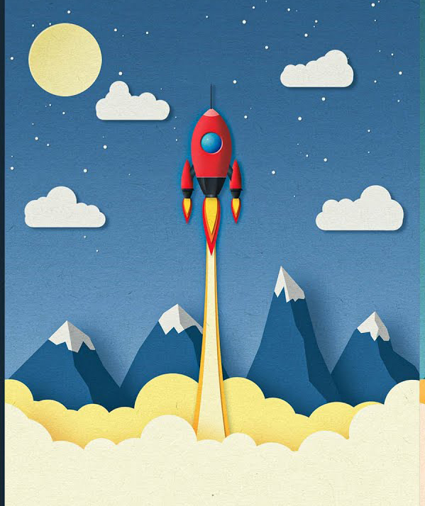 How to Create Paper Cut Out Illustration Effect in Photoshop Tutorial