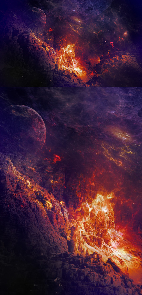 How to Create (Exploring Distant Planet) Photo Effect in Photoshop Tutorial