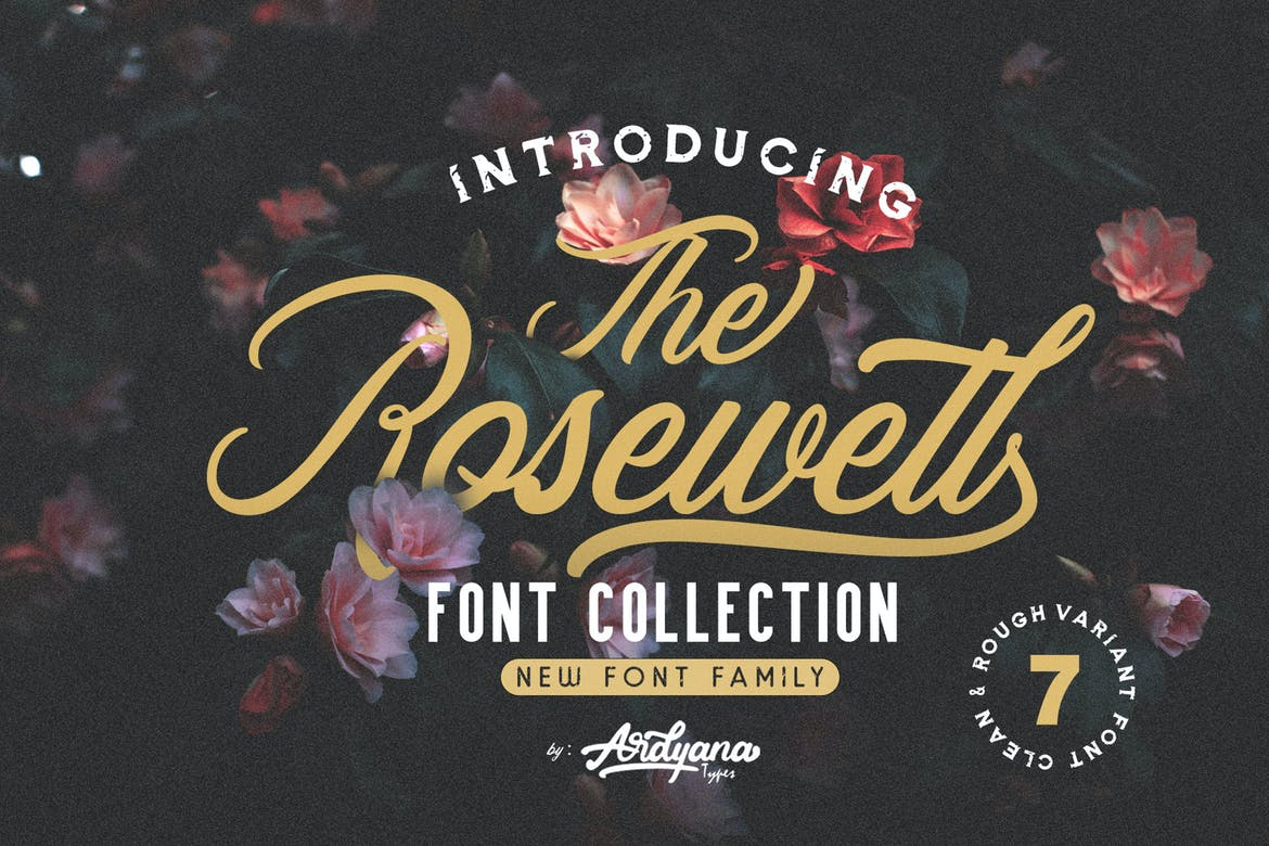 Rosewell Font