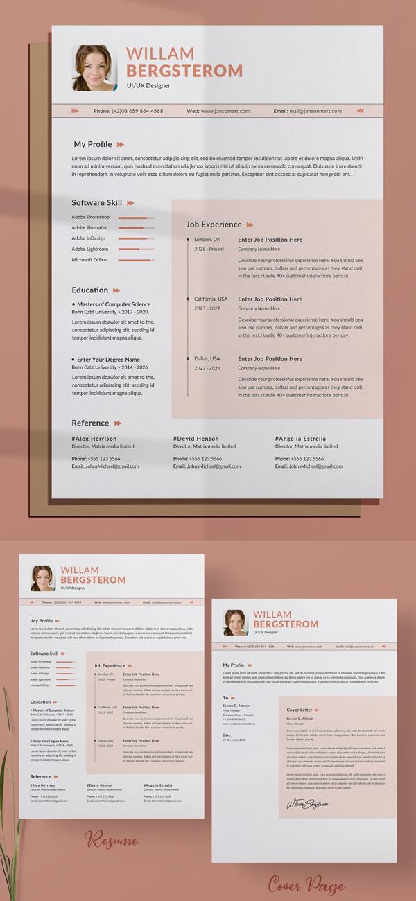 Creative Resume / CV Word