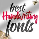 Post Thumbnail of 33 Beautiful Handwriting Fonts For Designers