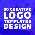 Post thumbnail of 30 Creative Logo Templates (PSD, AI)