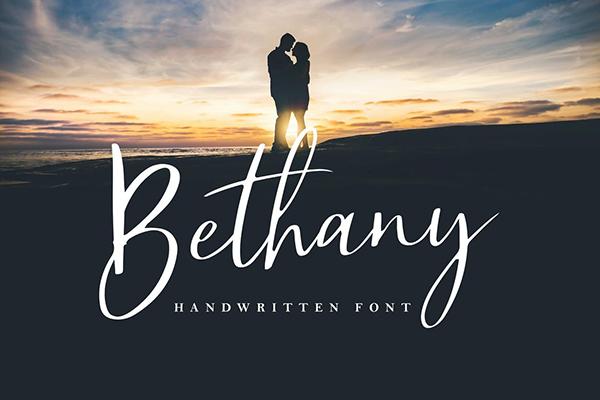 Bethany Script Handwritten Fonts