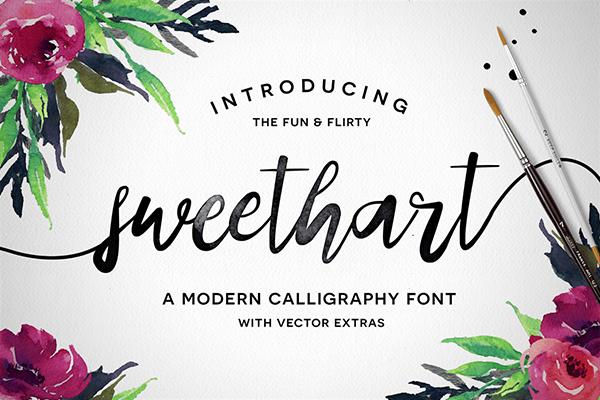 Sweethart Font