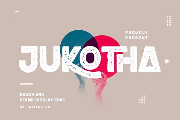 Jukotha Retro Font