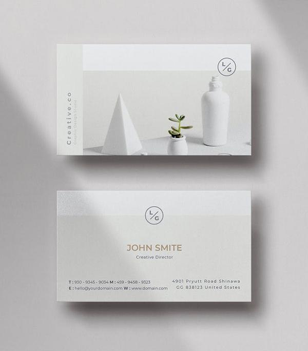 Super Minimal Business Card