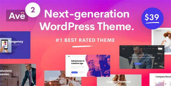 Ave - Responsive Multi-Purpose WordPress Theme