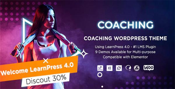 Coaching | Life & Fitness Coaching WordPress Theme