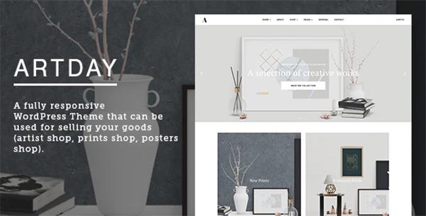 Artday - Creative Artist WordPress Shop