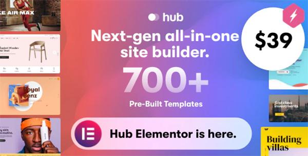 Hub - Responsive Multi-Purpose WordPress Theme