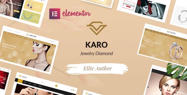 Karo | Jewelry Diamond WooCommerce WordPress Theme