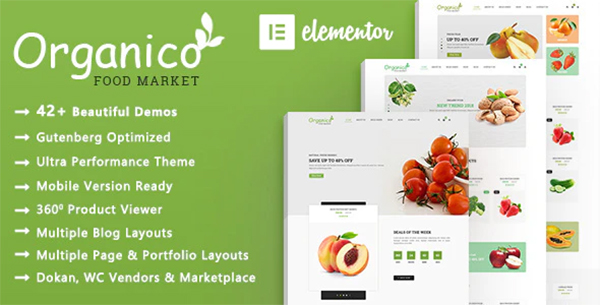 Organico | Organic Food WooCommerce WordPress Theme