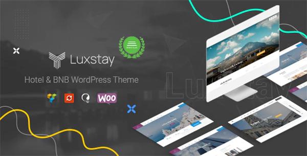 Hotel & BnB WordPress Theme   LuxStay