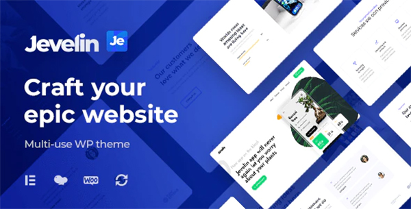 Jevelin   Multi-Purpose Responsive WordPress AMP Theme