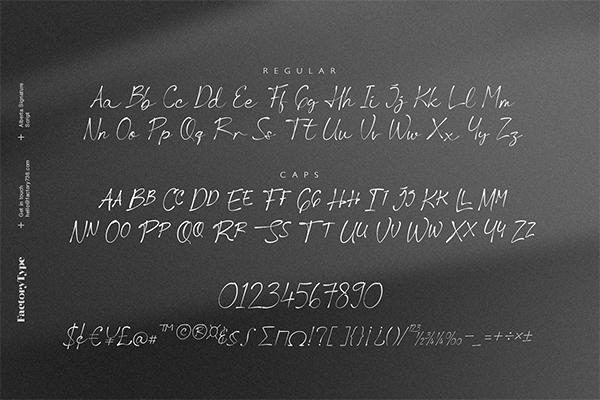 Alberta Signature Script Font