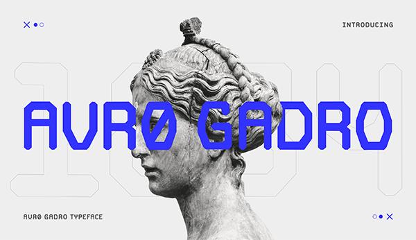 Avro Gadro Free Font