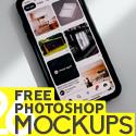 Post thumbnail of Free PSD Mockups: 26 Photoshop Mockup Templates