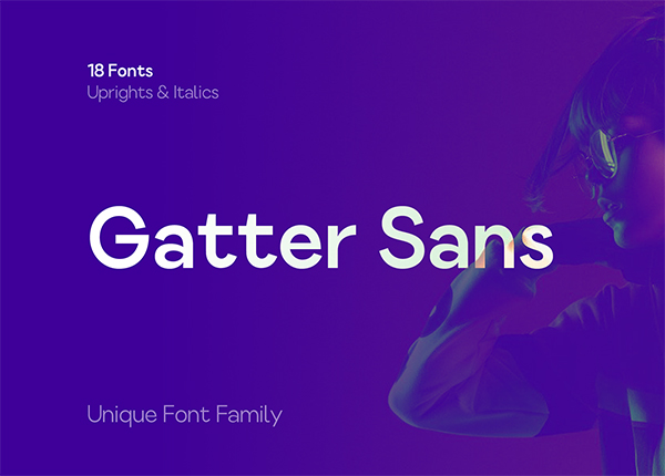 Gatter Sans Free Font