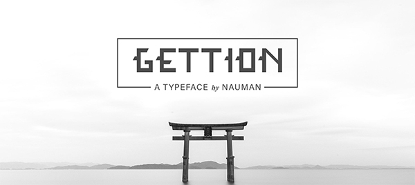 Gettion Free Font