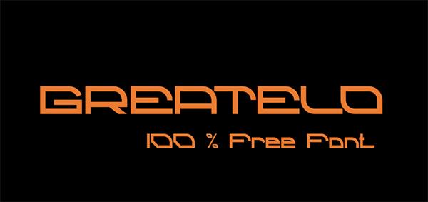 Grateld Free Font